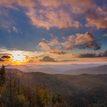 Západ slnka na Tanáde