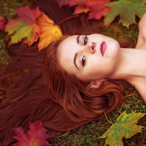 jesenný portrét