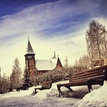 Zimná dedinka