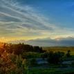 Horúci západ slnka od Popradu