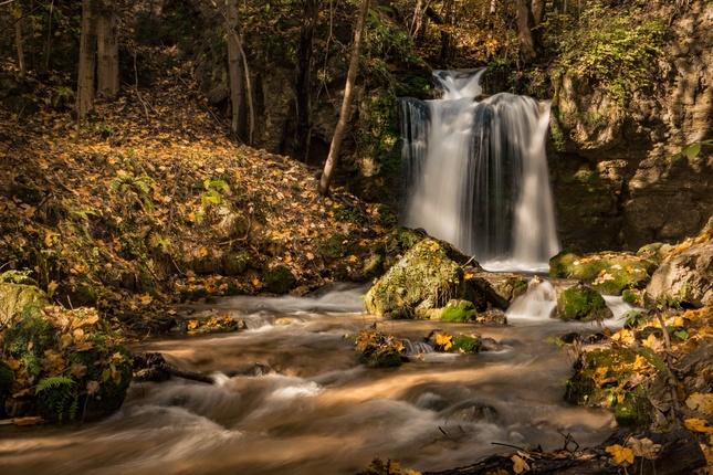 jesenný vodopád II.