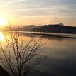 Západ slnka na Liptovskej Mare