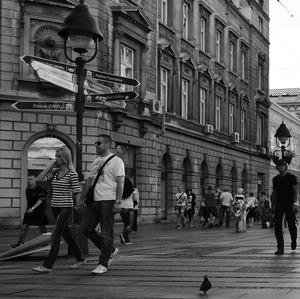 V uliciach Belehradu