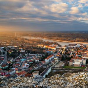 podvečerný Hainburg