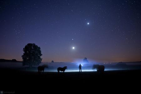 Astrofotografia - Ranné zoskupenie planét