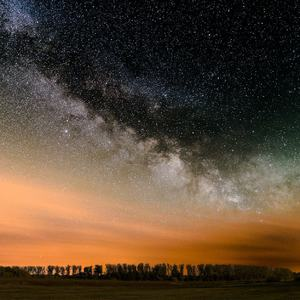 Milky way with some Airglow