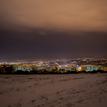 Zimný a večerný pohľad na Prešov