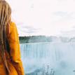 pri Niagarských vodopádoch