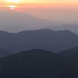 východ slnka z Chopku