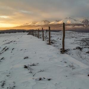 západ pod Tatrami