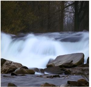 divoká rieka
