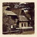 drevená dedina