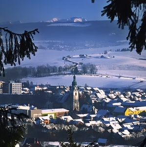 mestečko pod horami