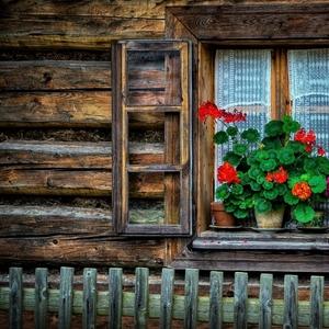 okná starých mám II.