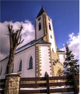 Kostol v Zuberci