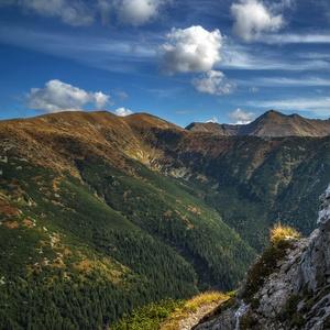 jeseň v Západných Tatrách
