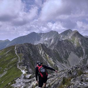 Na hrebeni ...