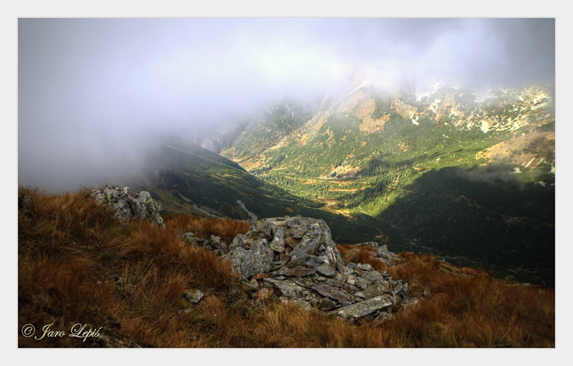 Opona nad Žiarskou dolinou