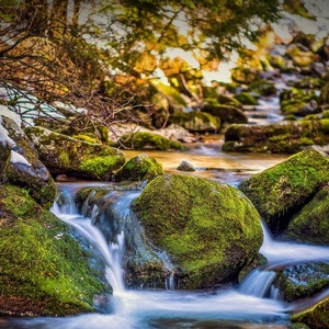 horská voda