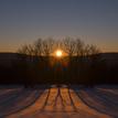 Západ slnka na Detve
