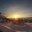 Východ slnka na Solisku