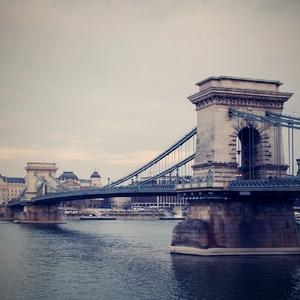 Historický most v Budapešti