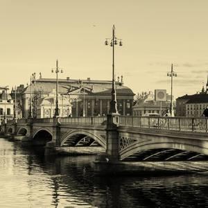 Most v Štokholme