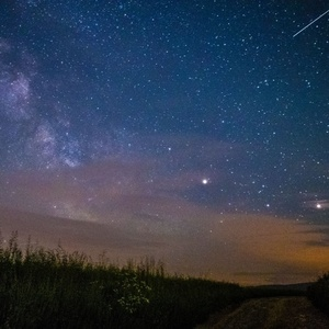 Mliečna dráha nad Breznom III
