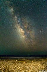 Mliečna dráha nad morom