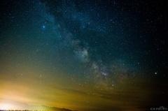 Mliečna dráha nad Breznom VII
