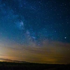 Mliečna dráha nad Breznom II