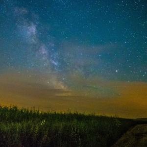 Mliečna dráha nad Breznom V