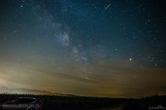 Mliečna dráha nad Breznom I