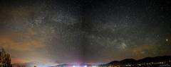 Mliečna dráha v Brezne