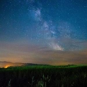 Mliečna dráha nad Breznom VI