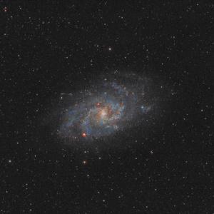 Galaxia v trojuholníku