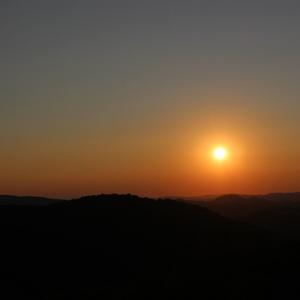 Východ sluníčka nad Rovenskem