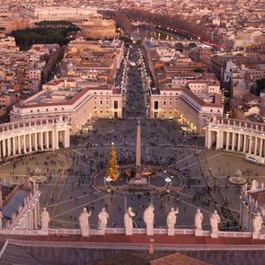 Náměstí v Římě