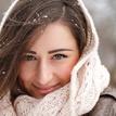 Ivka-zimný portrét