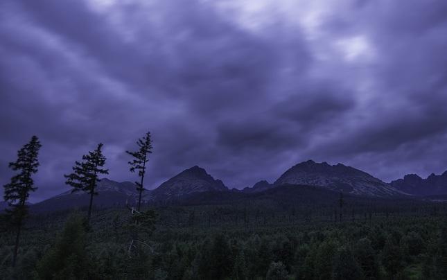 Mračná nad Tatrami