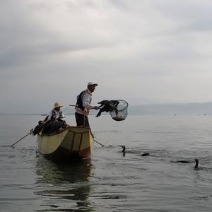 na jezeře ...