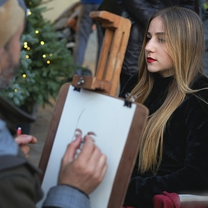 Predvianočný portrét