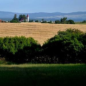 letná krajina