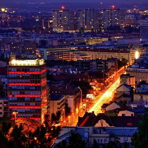 Pohľad zo Slavína