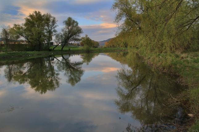 Znova pri rybníku...