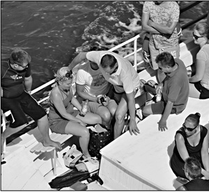Chaos na lodi