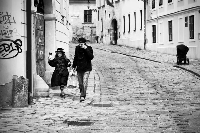 V uliciach starej Bratislavy
