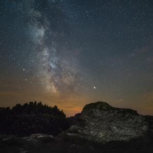 Noc v Nízkych Tatrách