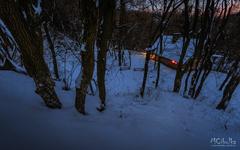 Chatka v lese