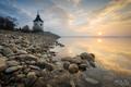 Ráno pri Liptovskej Mare